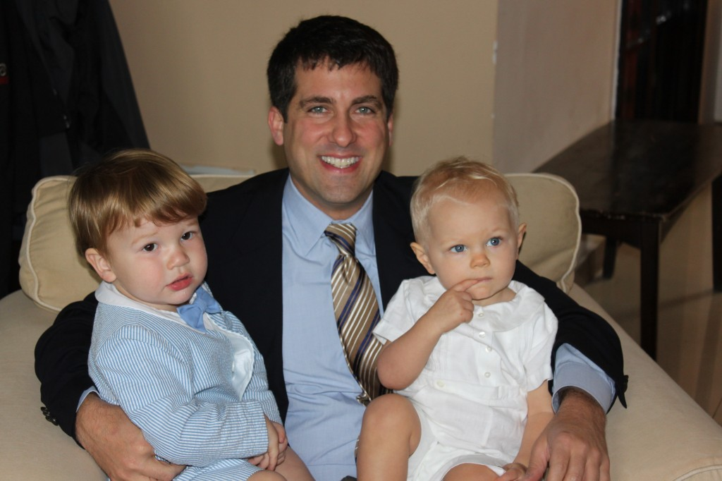 Noah, Maddox, and me on Easter 2012