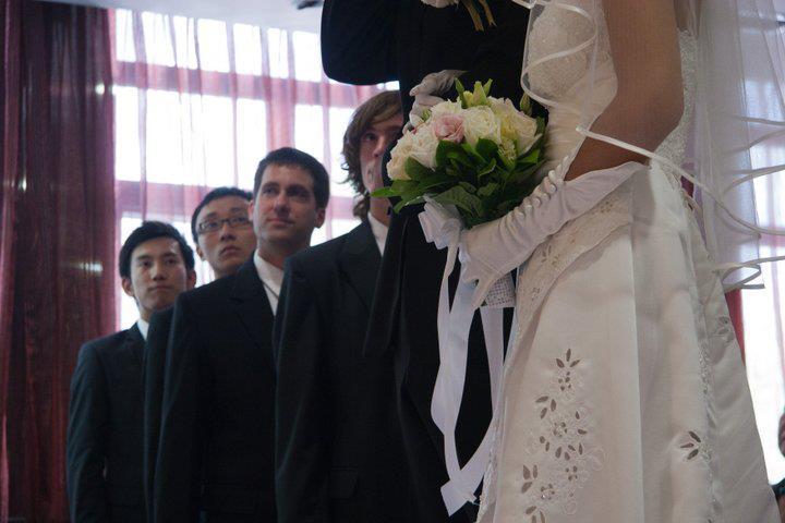 John Gunter at Teddy Yuan's wedding