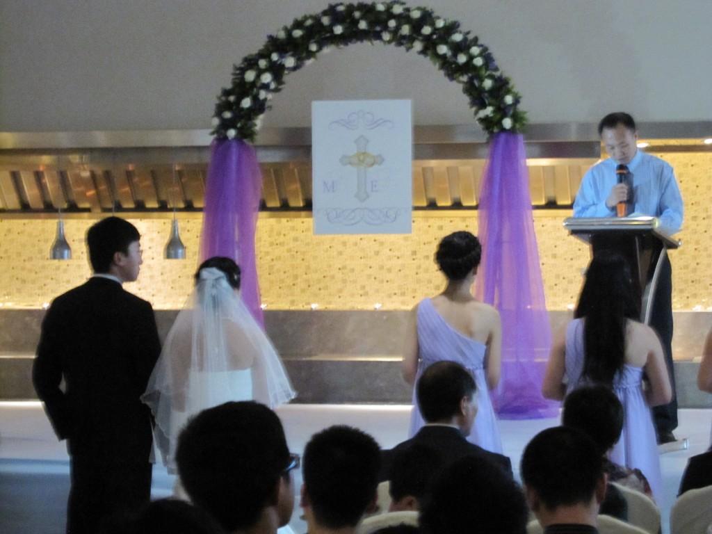 EW's wedding