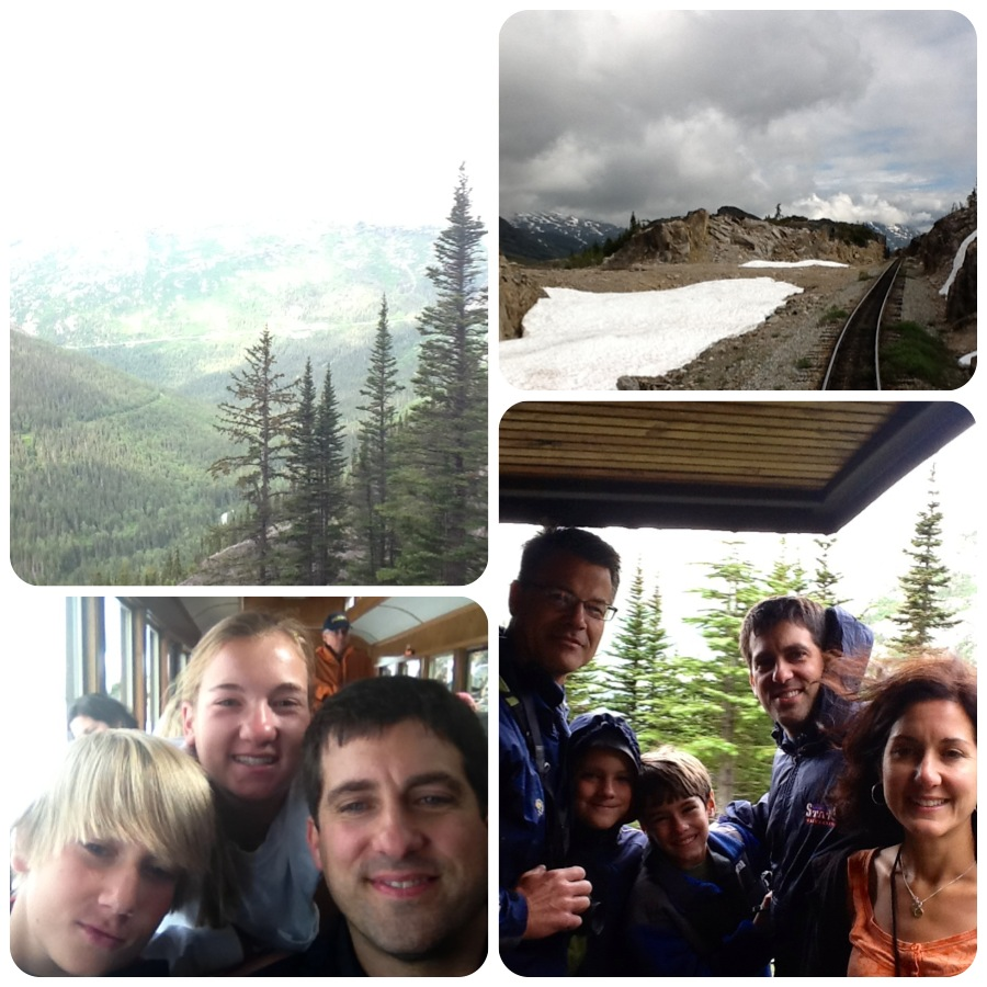 Skagway train ride