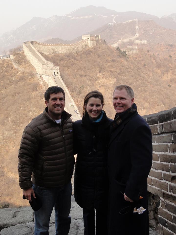 John Gunter, Rankin Wilbourne, and Morgen Wilbourne in Asia