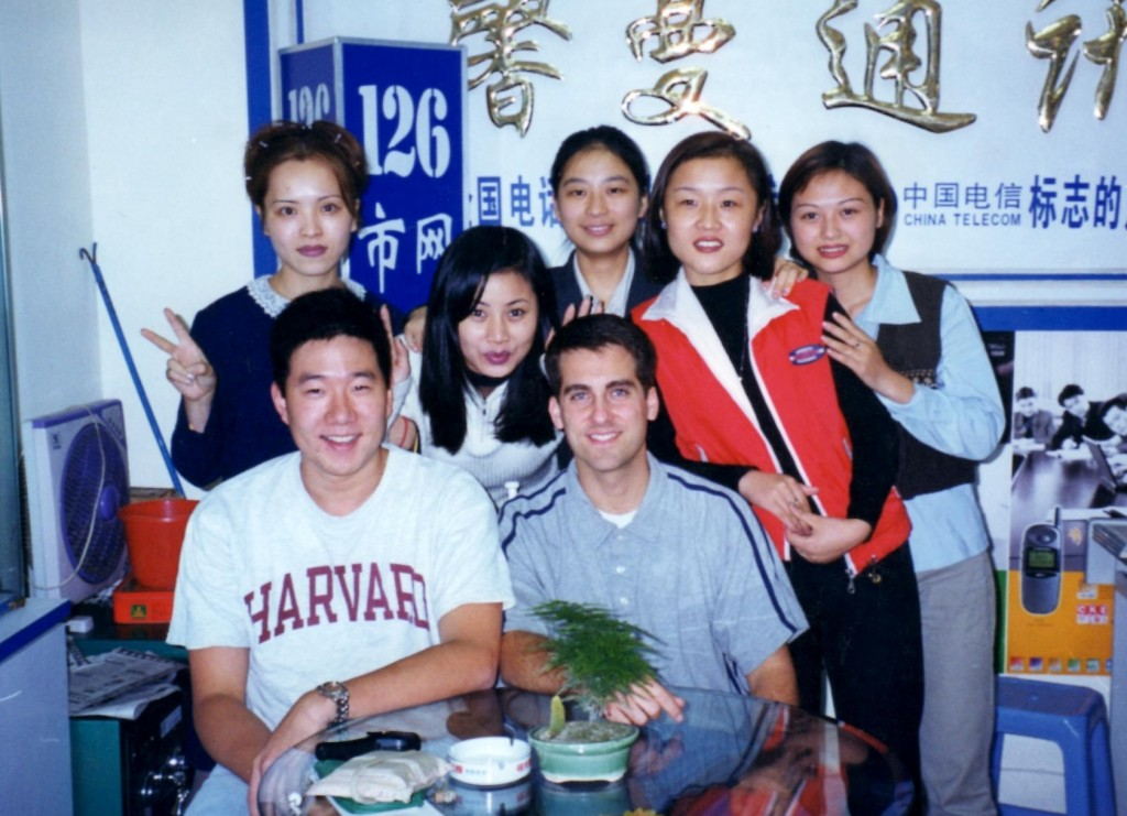 John Gunter, Patrick Ku, and others in Asia