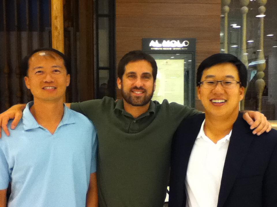 John Gunter, with Yuh Tseng and Eugene Kim