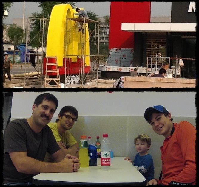 McDonald's China and the guys