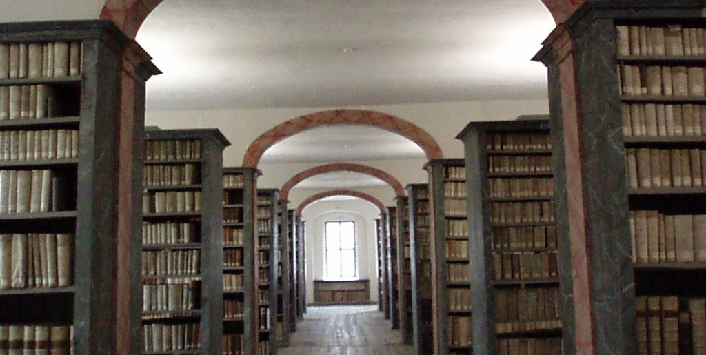 Theology library in Halle, Germany. . . I studied there a few years ago.