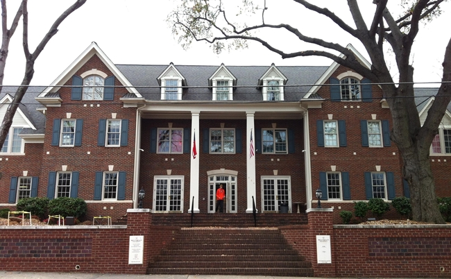 My old fraternity house