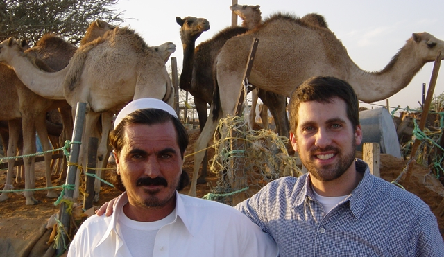 One of the trips I reference towards the end of this article. . . a random camel herder and I in the Arabian Desert a few years ago.