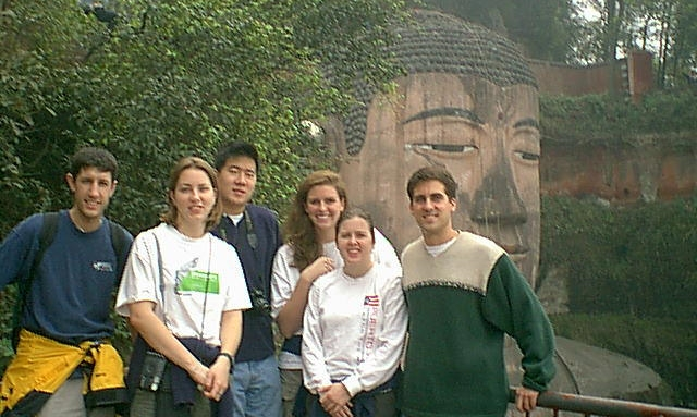 My first program group I came to Asia with in 1999 (Drew Johnson, Summer Owens, Pat Ku, Meagan Vinson, and Melody Harris.