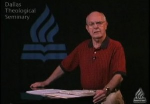 Howard Hendricks lecturing at DTS. . .