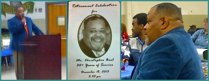 Pics of Coach Beal from today's ceremony. . . taken by my former teammate, Kevin Rogers.