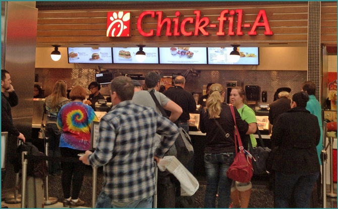 Atlanta Hartsfield-Jackson Airport Chick-fil-a