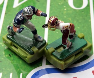 Electric football players