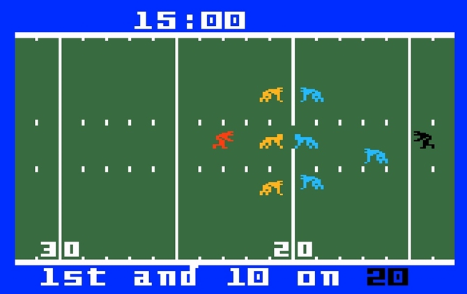 Intellivision football