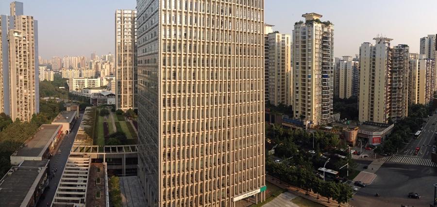 Skyline of Chongqing, China